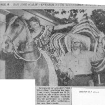 Image of Almaden will hold Gala Fete 1946