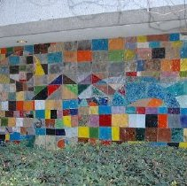 Image of Mural (Macy's parking garage) - Peter VandenBerge