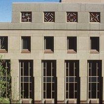 Image of Geometric Progression (Top Floor Window Grillwork) - Elizabeth Saltos