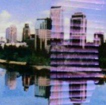 Image of Sacramento Skyline (Day) and (Night) - Johnson, Ron
