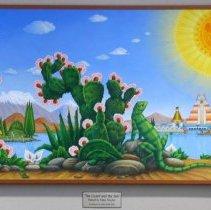 Image of Lizard and the Sun - La Lagartija el Sol - Davalos, Felipe
