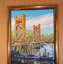 Image of The Tower Bridge Embracing Spring - Montanino, Anthony