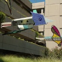 Image of Flying Gardens (Garage View #1) - Dennis Oppenheim