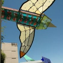 Image of Flying Gardens (Garage View #2) - Dennis Oppenheim