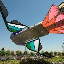Image of Flying Gardens (Detail #1) - Dennis Oppenheim