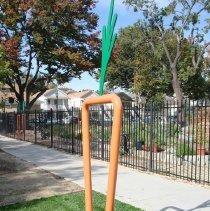 Image of Untitled (Bike Racks) - Meeks, Larry