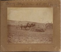 Image of Haying at Embar Ranch