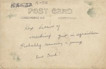 Image of Machine Post Card Back