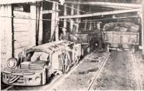 Image of Miners and Coal Cars