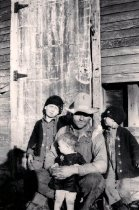 Image of Grandpa Skaggs & Kids.
