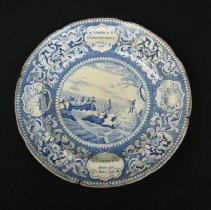 Image of Transfer Printed Commemorative Plate