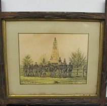 Image of Framed Drawing