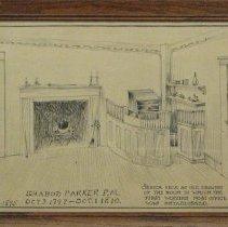 Image of Mishawum House Drawing