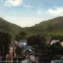 Image of View showing mountain