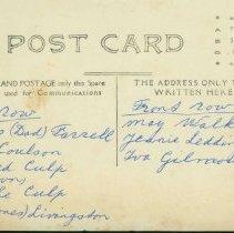 Image of Postcard back