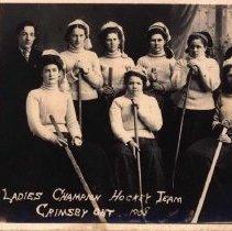 Image of Ladies Hockey Team 1908