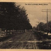 Image of road to grimsby beach
