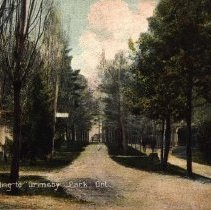 Image of driveway to Grimsby Park