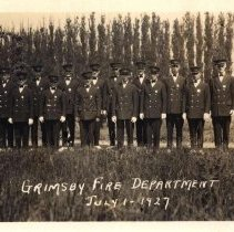 Image of Grimsby Fire Department, 1927
