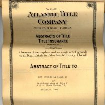 Image of Atlantic Title Abstract page