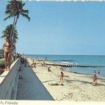 Image of The beach on Palm Beach, Florida