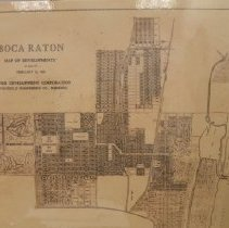 Image of Mizner developments, Boca Raton, 1926.
