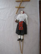 Image of full view of front of the marionette