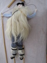 Image of full view of puppet