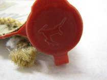 Image of Deer on top of red cap