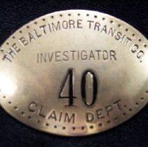 Image of 1988.085.001 - Badge