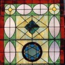Image of 1993.038.003 - Windowpane, Leaded