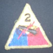 Image of 1995.188.005 - Patch, Military