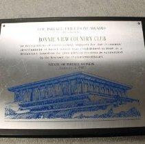 Image of 2012.006.012 - plaque