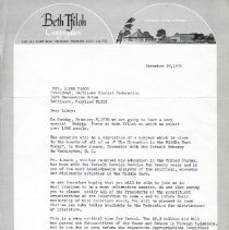 Image of 1985.073.012 - Baltimore Zionist Federation Records