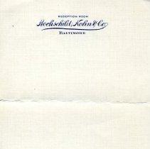 Image of 1988.061.004 - Hochschild Kohn Company Collection