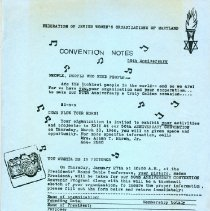 Image of 1989.108.096 - Federation of Jewish Women's Organizations of Maryland Records