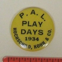 Image of 1994.106.008 - Button, Campaign