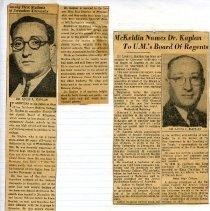 Image of 1994.205.142 - Louis L. Kaplan Papers