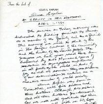 Image of 1994.205.292 - Louis L. Kaplan Papers