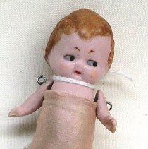 Image of Bisque doll, c.1910, possibly made by J.D. Kestner