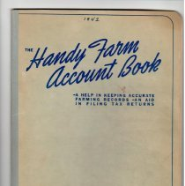 Image of Handy Farm Account Book, J. Tscheschke, 1942