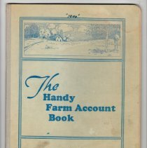 Image of Handy Farm Account Book, 1940