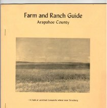 Image of Farm and Ranch Guide Arapahoe County, 1957