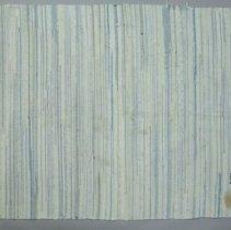 Image of Rag rug woven by woman in eastern Colorado, near Hugo; c.1920.