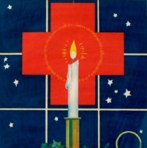 Image of Red Cross membership poster during World War I; 1917.