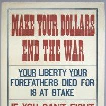 Image of World War I poster advertising liberty bonds; c.1917.