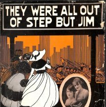 """Image of """"They Were All Out of Step But Jim"""" by Irving Berlin; 1918."""