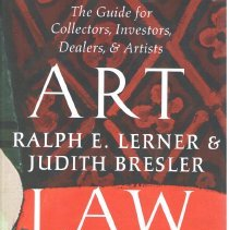 Image of Art law : the guide for collectors, investors, dealers, & artists. - Lerner, Ralph E., 1943-