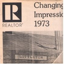 Image of Changing impressions 1973 : special real estate supplement to the Independent,Thursday, May 24, 1973. - Littleton Independent (Littleton, Colo.)