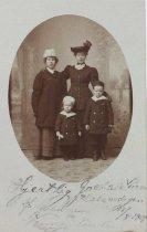 Image of Undated postcard sent to Nanny Davidson, 1901?